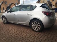 Vauxhall Astra automatic 1.6 petrol cheapest Astra new shape