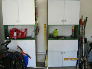 storage cabinets 2 for 40.00