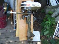 Viking 3.5hp outboard - needs repair/replace of the pull cord