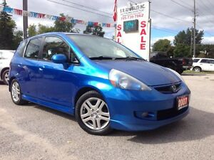 2007 HONDA FIT | 5SPEED | VERY CLEAN | ALLOYS