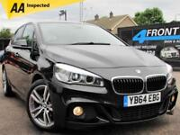 2015 BMW 2 SERIES 218D M SPORT ACTIVE TOURER 5DR 6 SPEED MANUAL DIESEL HATCHBACK