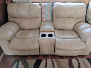 Leather Couch Set for Sale