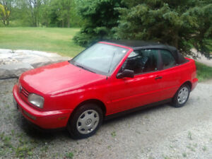 volkswagon cabriolet  convertible,  very good shape,