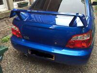 Subaru Impreza wrx spoiler prodrive uk300 sti