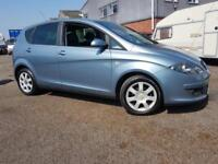 Seat Altea 1.6 8v Stylance MPV Estate Car From Seat, History & Mot'd
