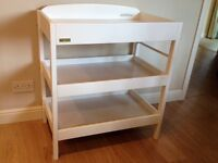 Changing table - East Coast Clara, white