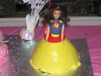 Gâteau Barbie