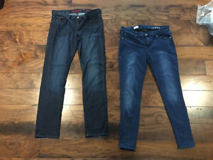 2 pairs of Jeans (GAP and BANANA REPUBLIC) - LIKE NEW