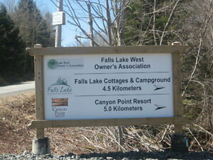 Cottage Country - Great lot for sale with lake access