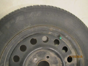 A set of 4 Uniroyal Tiger Paw ICE&SNOW TIRES on RIMS Kitchener / Waterloo Kitchener Area image 3