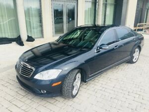 2007 Mercedes Benz S550 4Matic 4x4 AMG trim V8 with 154,335km