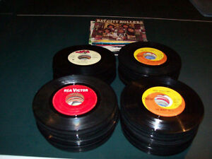 RECORDS  --  45'S  ( ABOUT  2OO  OF THEM )