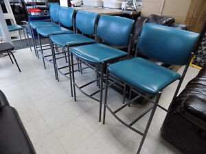 """Bar Stools 29"""" and 30"""" New and Used Call 727-5344"""