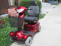 4 wheel Invacare Auriga 10  mobility scooter with warranty