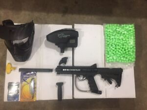 Paintball gun and equipment $80