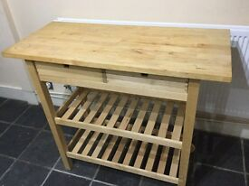 Ikea pine butchers block for sale!