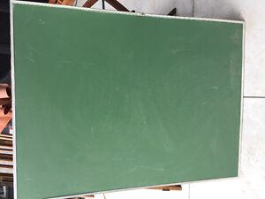 Tableau à craie vert