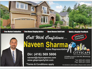 Real Estate Services in GTA/PEEL
