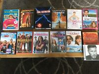12 DVD's and 1 CD for £10