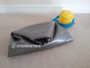 Exercise ball and pump in great condition!