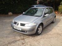 Renault Megan's 1.6 1 year mot