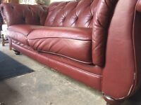 Vintage Winchester Chesterfield sofa
