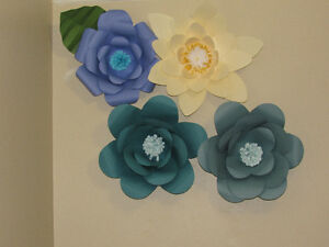 Wedding decoration- giant paper flowers Kitchener / Waterloo Kitchener Area image 4