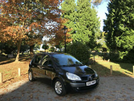 2007/57 Renault Scenic 1.6 VVT ( 111bhp ) Dynamique 5 Door MPV Black