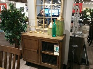 brand new curio cabinet and dining server