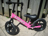 STRIDER  BALANCE BIKE( Model 12 Sport ) EXCELLENT CONDITION