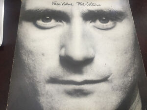 Phil Collins Face Value vinyl record