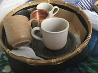 Saki/espresso cups set