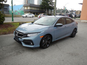 2017 Honda Civic ---- Hatchback ---- Sport ---- Touring -----