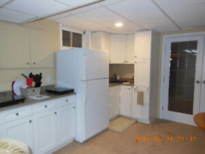 INNISFAIL – Furnished Bsmnt Mother-in-Law SUITE w/Kitchen & Bath
