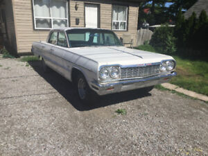 1964 impala rolling chassis