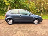 VW Polo 1.2 E LOW MILES 3 Door IDEAL FIRST CAR!