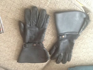 Men's Leather riding gloves