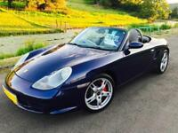 2004 Porsche Boxster S 3.2 Manual **Lapis Blue - Blue Roof - Full History**