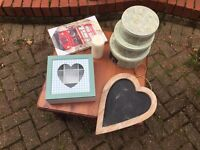 Shabby chic job lot with table must go!