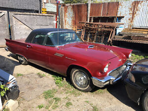 ++++++    1957 CLASSIC T'BIRD MUST SEE CAR    ++++++