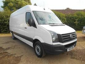 2013 13 VOLKSWAGEN CRAFTER 2.0TDI 109 6SPEED LWB CR35 1 OWNER FULL VW HISTORY