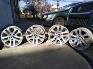 16 '' BMW mags   +  225 50 16 winter tire