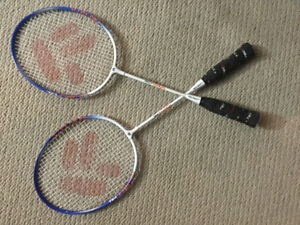 A pair Techno pro Badminton Racquet For kids,