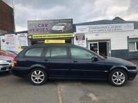 2005 ESTATE JAGUAR X-TYPE 2.0D CLASSIC DIESEL ( AA ) WARRANTY INCLUDED