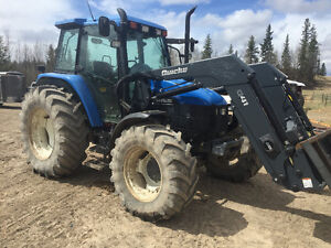 New holland ts 110 tractor