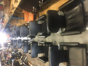 Black Styling / Salon Chairs CLEARANCE