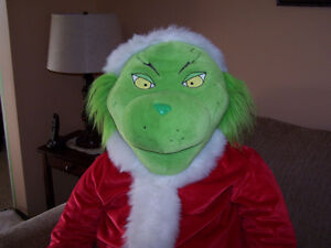 Giant plush Grinch Campbell River Comox Valley Area image 2