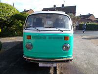 Volkswagen T2 CAMPERVAN VW Left Hand Drive for sale