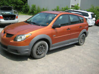 2004 Pontiac Vibe Automatic, A/C  for parts / export