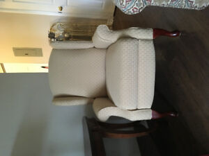 Set of Wing Back Chairs